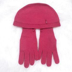 *NWT* Ann Taylor LOFT Winter Hat & Gloves Set